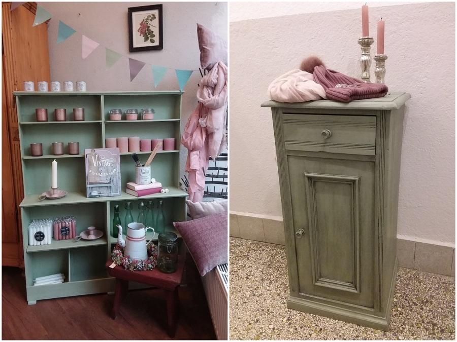 Der Alte Kinderladen   Auch Schön In Mamas Küche   Ist In Moss Green  Gestrichen Und Mit Clear Wax Gewachst.